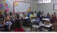 Projeto de Educação para Jovens e Adultos Primavera tem aula inaugural