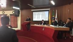 Vereadores vão a Presidência da COPASA cobrar compromisso e obras de melhoria