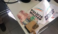 Polícia Militar prende traficante e apreende menor