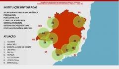 Operação integrada busca prevenção e repressão a crimes nas áreas de divisas