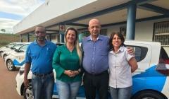 Município recebe 4 veículos para reforçar atendimentos na área da saúde