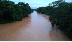 Defesa Civil emite alerta sobre risco de transbordamento do Rio Preto em Unaí