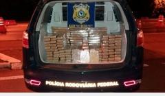 PRF prende traficantes e apreende quase 150kg de maconha e crack