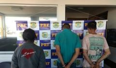 Bandidos que assaltaram fazenda em Paracatu são presos em Goiás