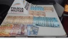PM apreende mais de R$ 3.000,00 em notas falsas e prende estelionatário