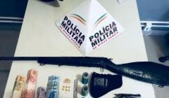 PM prende traficante e apreende drogas e armas de fogo no bairro JK
