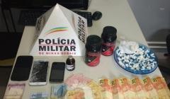"""PM prende traficante no bairro Cidade Jardim durante operação """"Paracatu em Paz"""""""