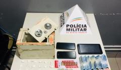 Polícia Militar prende traficante com cocaína e munições no bairro Bela Vista II