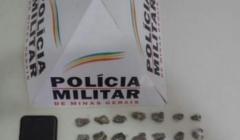 PM prende traficante e apreende 36 buchas de maconha no bairro Novo Horizonte