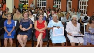 Homenagem �s Mulheres Paracatuenses