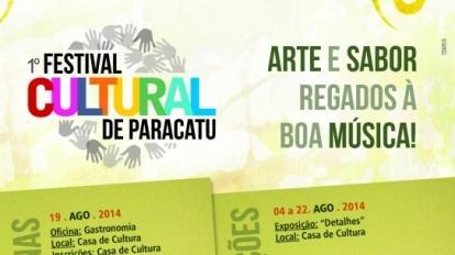 Festival cultural segue at� s�bado, dia 23 em Paracatu