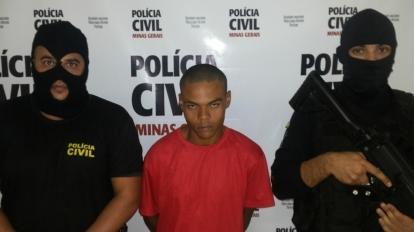 Suspeito de homic�dio � preso durante opera��o Impacto em Paracatu
