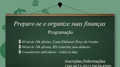 O SEBRAE promover� nesta primeira semana de Setembro oficinas e consultorias sobre Finan�as empresariais
