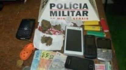 Traficante � preso no bairro Prado e menores apreendidos por roubo a m�o armada no Centro