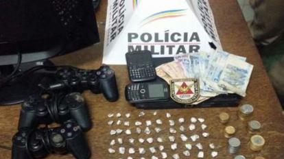 PM prende traficante e apreende 66 pedras de crack e um menor infrator no Chapadinha