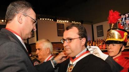 Diretores da Finom recebem a Ordem do M�rito Legislativo em Belo Horizonte