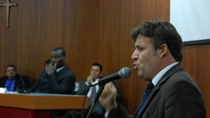 Vereador acusa imprensa de omiss�o no caso do Assassinato de Eust�quio Porto Botelho