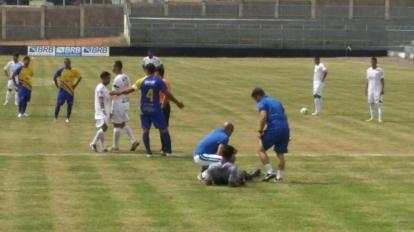 Paracatu Futebol Clube estr�ia no Candang�o e joga apenas 1 minuto contra o Ceil�ndia.