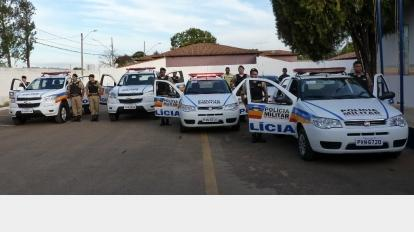 Kinross entrega viaturas para a Pol�cia Militar em Paracatu