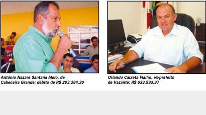 Minist�rio P�blico acusa ex-prefeitos de Vazante e Cabeceira de Improbidade