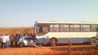 Grave Acidente � registrado na Estrada do Entre Ribeiros