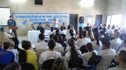 Conselho realiza Conferencia para debater direitos de portadores de defici�ncia em Paracatu