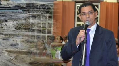 Vereador critica marco regulat�rio e quer altera��o no novo c�digo da minera��o