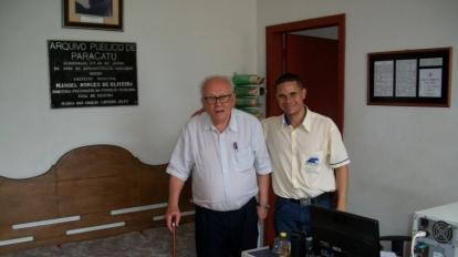 Acervo Escritor Oliveira Mello: Um presente hist�rico e cultural para o povo de Paracatu