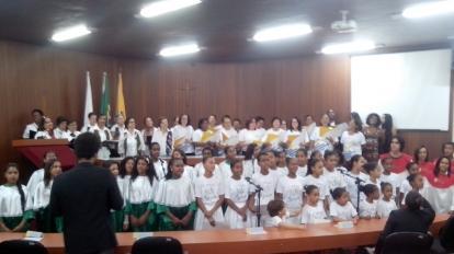 Secretaria Municipal de Cultura realiza o V Encontro de Corais na C�mara Municipal de Paracatu