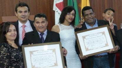 Marcelo Massa e Raimundo Terra Seca recebem Cidadania Honor�ria em Paracatu