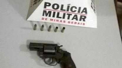 PM de Brasil�ndia de Minas apreende arma de fogo ap�s den�ncia da comunidade