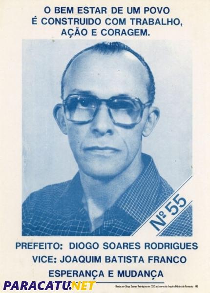 Morre o Ex Prefeito Diogo Soares Rodrigues, o emblemático Diogão 70 - Notícias - PARACATU.NET - 143701783241143200